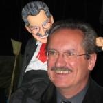 Foto: OB Christian Ude mit Christian-Ude-Marionette
