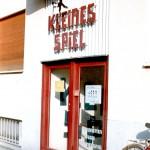 Foto: Eingang des Kleinen Spiels in der Arcisstraße, vor 2011