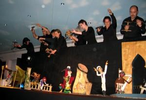 Foto: Finale der Sondervorstellung zur Verleihung des Schwabinger Kunstpreises 2004