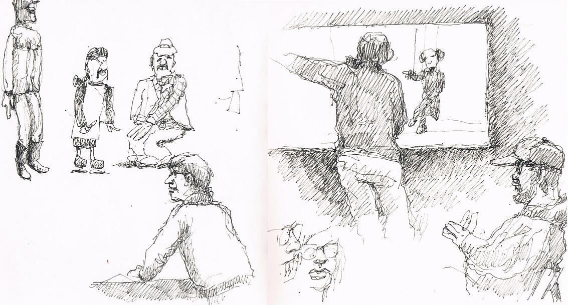 (© Michael Merkel / Urban Sketchers Munich)